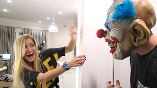 KILLER CLOWN SCARE PRANK