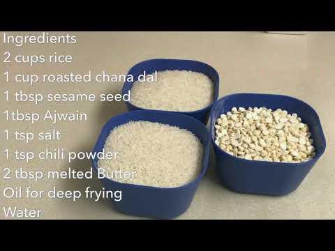 How to make murukulu (spicy snack)
