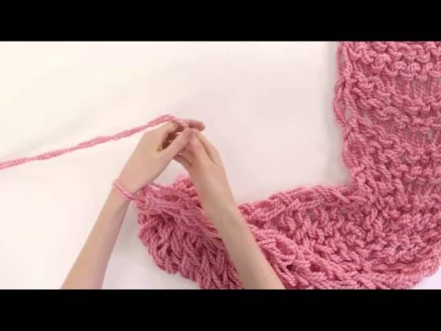 Вязание для новичков шарф