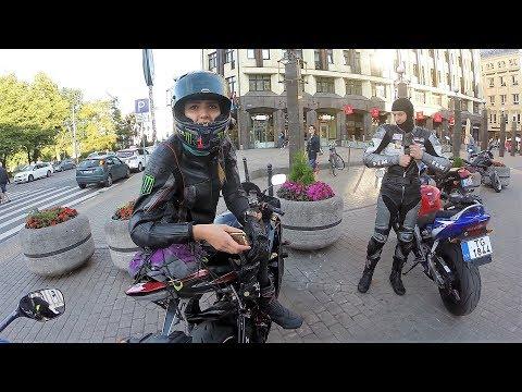 ТРОЛЛИНГ Девушки на СПОРТБАЙКЕ Yamaha R6