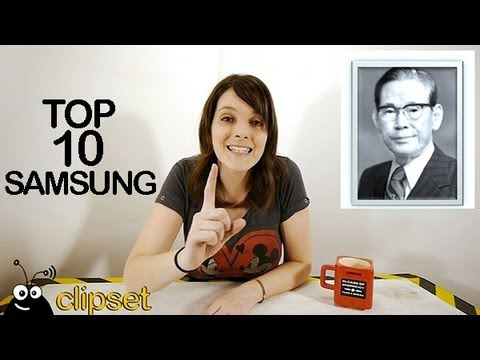 Top 10 curiosidades Samsung