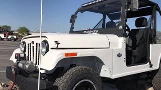 Mahindra Roxor First Look | Made in USA Mahindra jeep