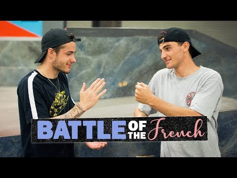 Battle Of The French: Aurelien Giraud Vs. Vincent Milou On Every Berrics Obstacle