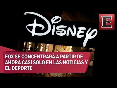 Disney compra el negocio de entretenimiento de Fox por 52 mdd