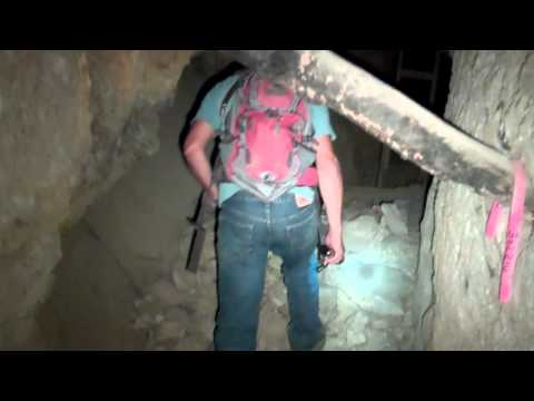 Exploring Gold Silver Mine Tunnel 4 Levels Below Ground