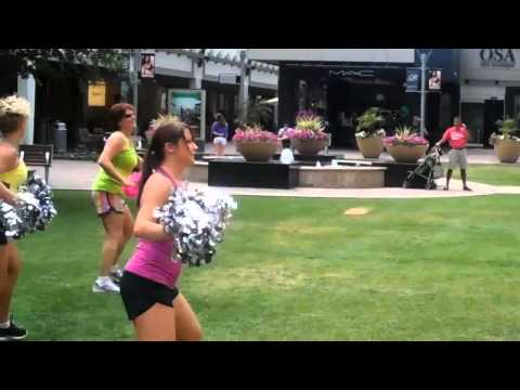 Dancer Body Fitness:  Cardio Pom At Lululemon, Phoenix video