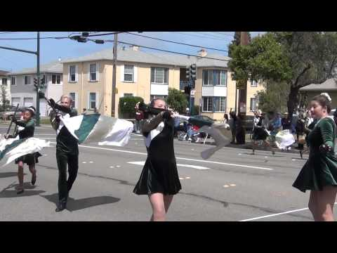 Vanden High School Marching Band and Color Guard - Ensenal - 2014