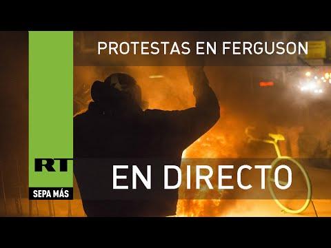 """EN VIVO: Siguen las protestas en Ferguson tras un """"injusto"""" veredicto"""