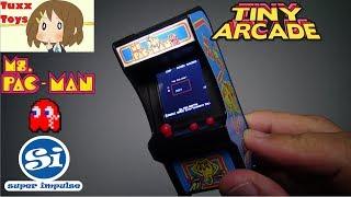 Tiny Arcade Machine - Ms Pac Man! + Enter to win Tuxx Anime Giveaway!