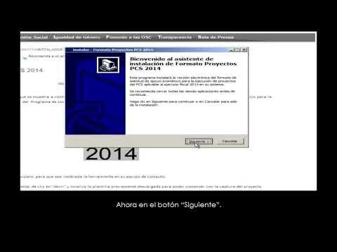 Conoce cómo descargar los formatos y plantillas del PCS 2014