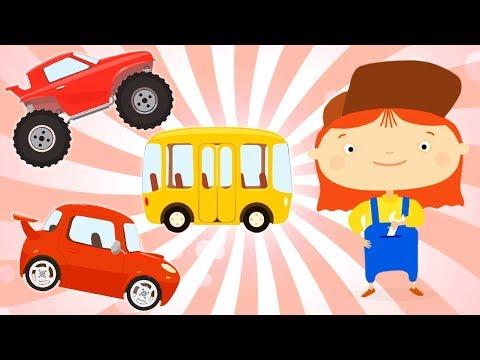 CAR DOCTOR! Kid's Cartoon about cars. Cartoons collection. Part 1. Doctor Mac Wheelie