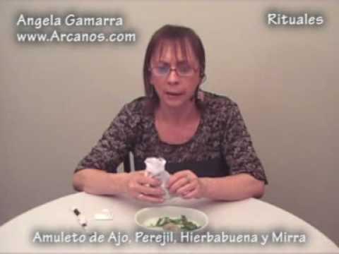 Amuleto de ajo perejil hierbabuena y mirra para buena - Rituales de buena suerte ...