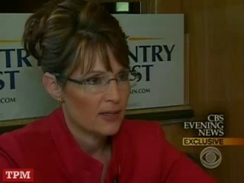 Sarah Palin about her foreign policy experience and Alaska's proximity to ...