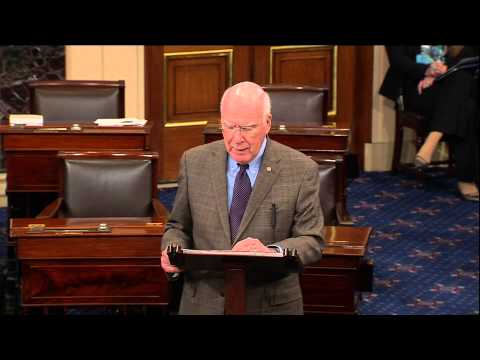 Sen. Patrick Leahy On The Farm Bill Agreement