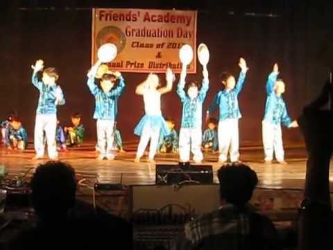 Tirth's Dance Performance - Jr. KG Friends Academy 2013