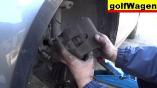 How to change front brake pads on Skoda Octavia   /100% FULL time /