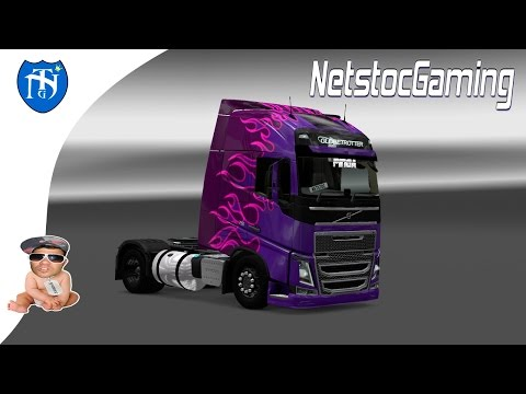 ETS 2 Mods Reviews. Volvo FH16 2013 Edit by PINGA