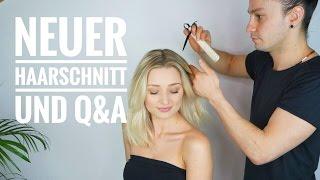 Neuer Haarschnitt und eure Fragen an den Friseur | OlesjasWelt