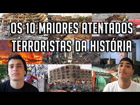 OS 10 MAIORES ATENTADOS TERRORISTAS DA HISTÓRIA