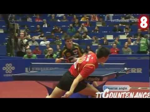 Best Table Tennis Shots of 2012 XMAS Edition