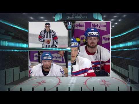 чм по хоккею 2017 Чехия Словения