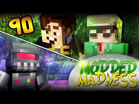 Minecraft: Time-lapse Un-nuking Party! - Modded Madness #90 (yogscast Complete Pack) video