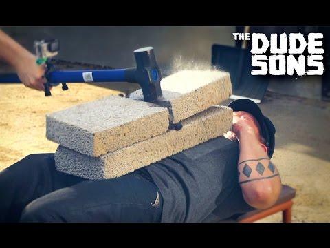 Sledgehammer Press Challenge with Hydraulic Press Channel!