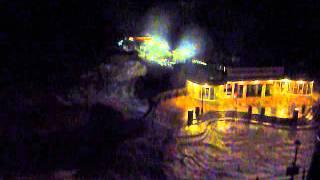 Storm surge batters Cromer Pier