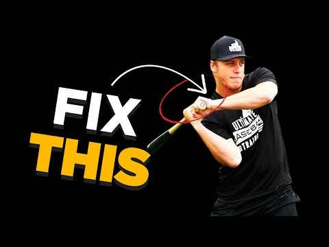 How To Stop Dropping Your Back Shoulder! - Baseball Hitting Tips