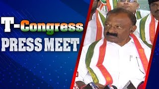 Congress Leader Raghuveera Reddy Press Meet