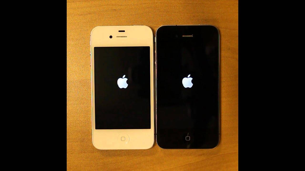 белый айфон 4s видео обзор
