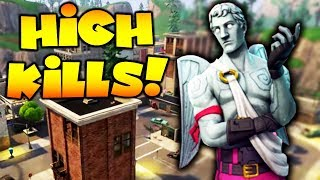 CRAZIEST TILTED TOWERS GAME EVER!! (Fortnite Battle Royale)