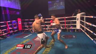 Ilias Bulaid Morocco vs Simon Santana Norway Enfusion Live #30 Dublin  Ireland