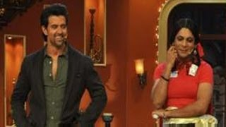 Comedy Nights with Kapil : Hrithik Roshan on the sets with Gutti & her team