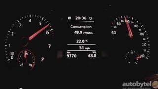 2015 Volkswagen CC 0-60 MPH Test Video - Turbo 2.0L DSG