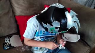 Unboxing luchador Kalisto WWE y naves Star Wars
