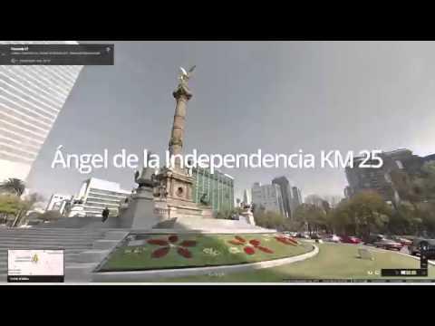Maratón de la Ciudad de México 2014 Google Maps