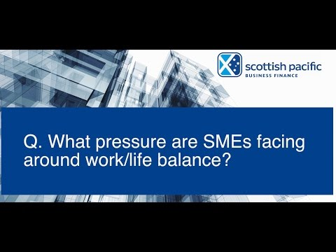 Scottish Pacific SME Growth Index Sept 2016 - Are business owners getting work/life balance right?