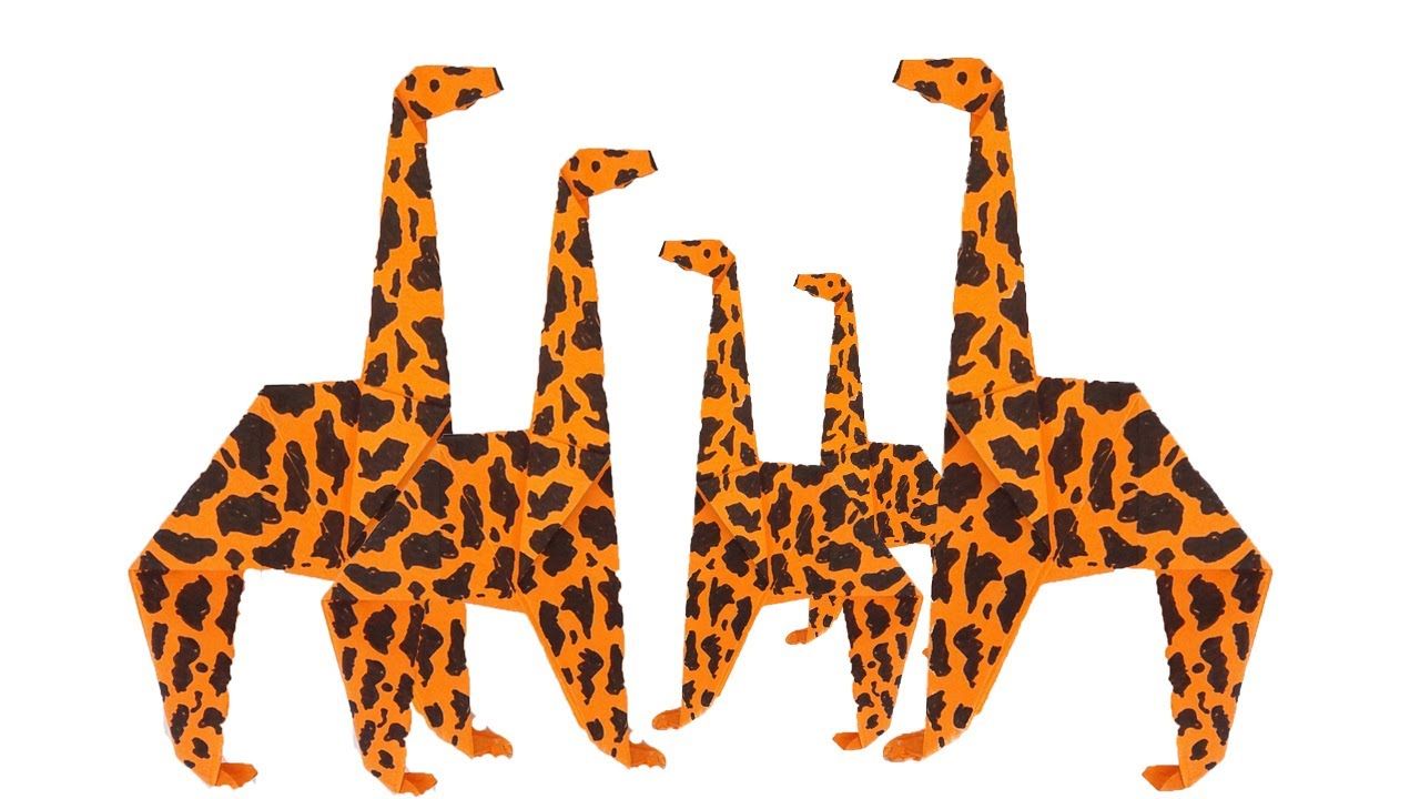Origami Giraffe Instructions Diagram