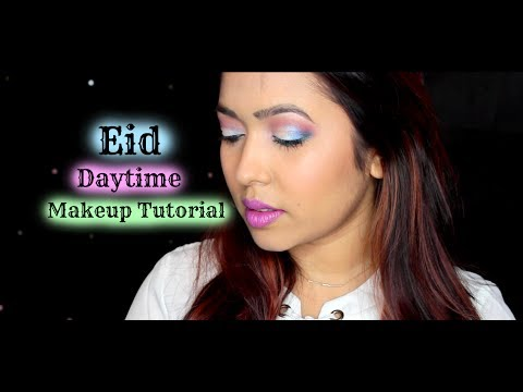 Simple Eid Daytime Makeup Tutorial | Kat Von D Alchemist Palette