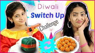 DIWALI SWITCH-UP Challenge |#Festival #Firework #Fun #Anaysa #MyMissAnand