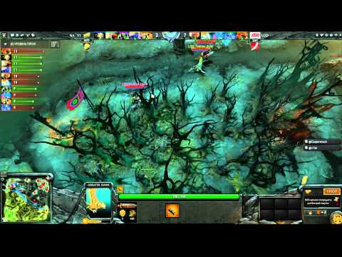 LGD vs Na`Vi -  Winner Bracket Semifinals Game 2 - The International - Russian Commentary