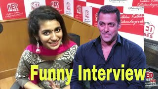 Priya Prakash Varrier Funny Interview | Oru Adaar Love Actress Priya Varrier Latest Interview