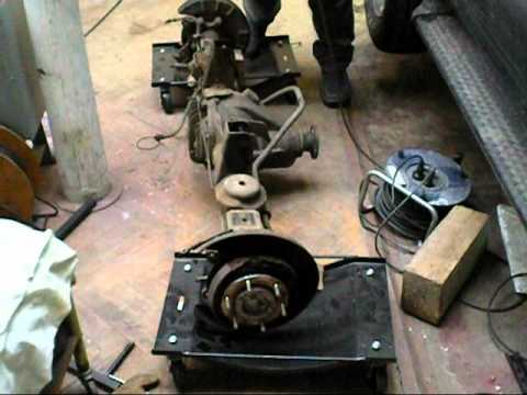 Frontera Rear Axle Removal Amp Installation Youtube