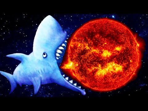 Tasty Blue #8 ЗУБАСТАЯ АКУЛА СЪЕЛА ЗЕМЛЮ Игровой мультик ФИНАЛ от КИДА #КРУТИЛКИНЫ #КИД