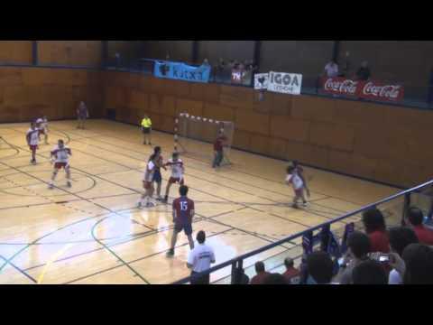 handball goal with head