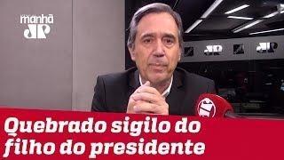 Villa: Indícios contra Flávio Bolsonaro são fortes