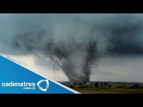Tornado causa destrozos en Hidalgo / Tornado causes damage in Hidalgo