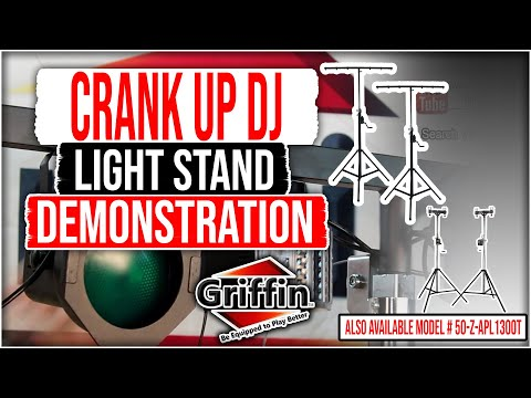 Griffin DJ Light Truss Crank Stands Product Review and Demonstration Model APL1300