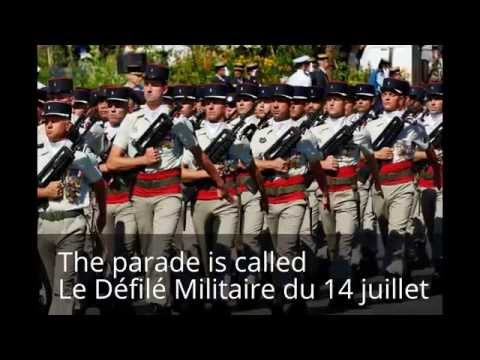 Bastille Day Military Parade 14th July Paris